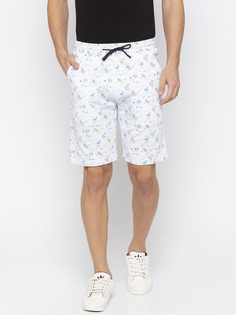Status Quo | Men's Cotton Printed Shorts