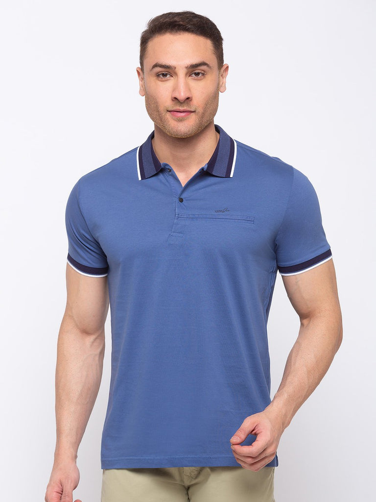 Status Quo |Solid Regular Fit Polo T-shirt - M, L, XL, XXL