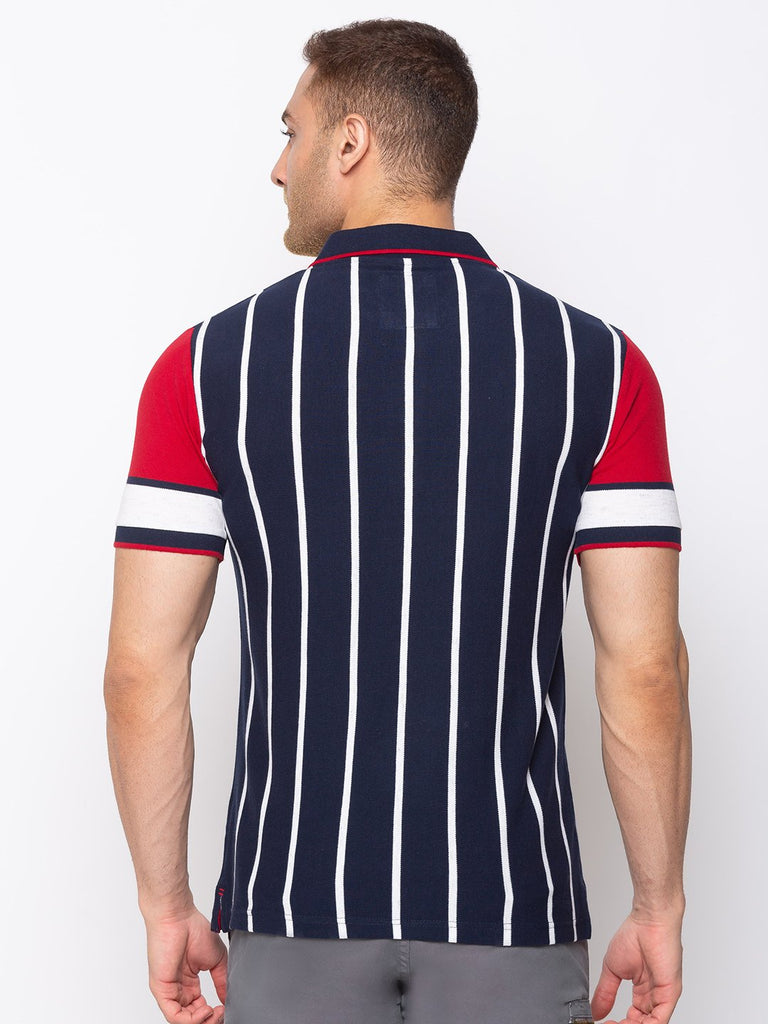 Striped Regular Fit Polo