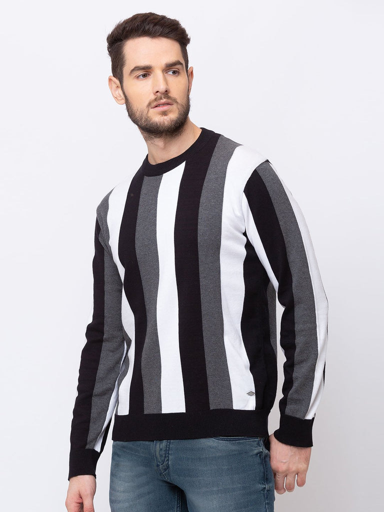 Vertical Stripped Sweater
