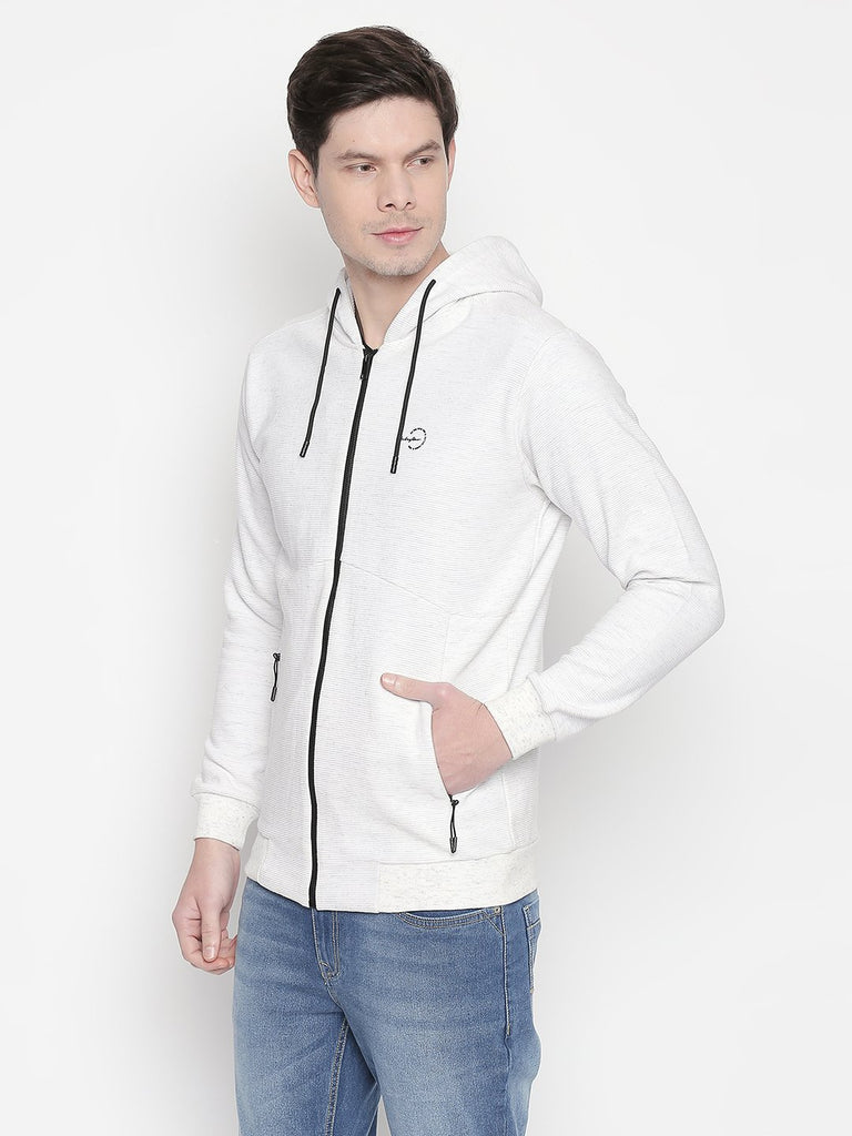 Solid Hooded Sweatshirt