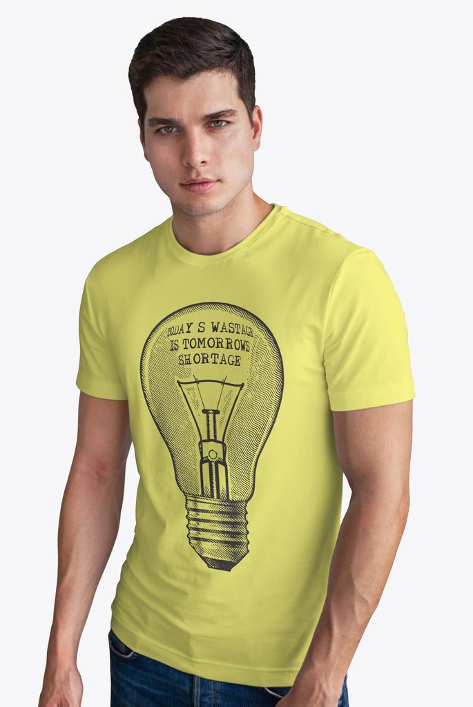 Solar Activated Printed T-shirt