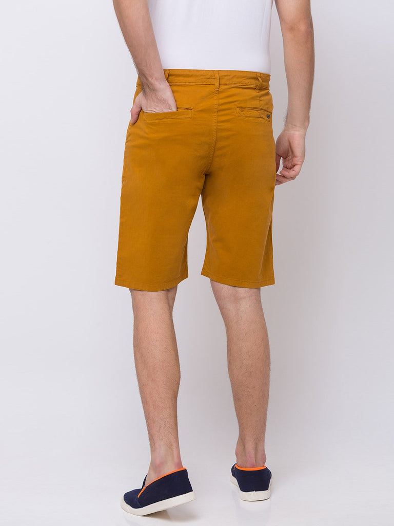 Solid Woven Shorts