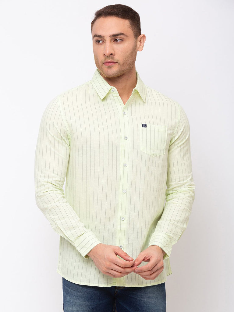 Status Quo |Vertical Stripes Regular Collar Shirt - M, L, XL, XXL
