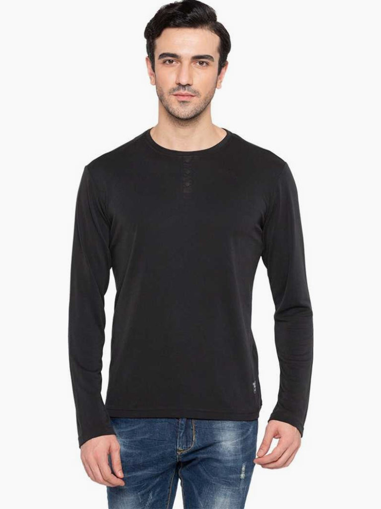 Black Full Sleeves Tee