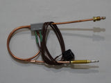 Pyrox thermocouple lead with tilt