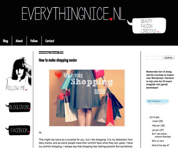 A DJEEGN feature by fashion blog Everything Nice