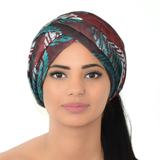 Djeeg'n headwrap for strong women