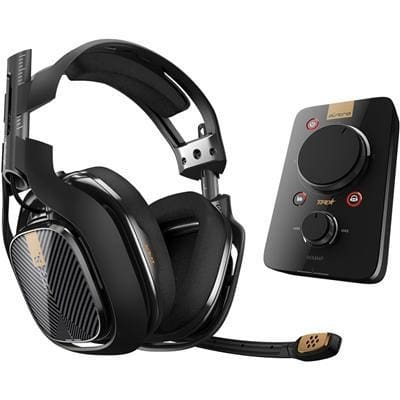Astro A40 Tr With Mixamp Pro Tr - Black (For Ps4 Ps3 Pc Mac) - A40 Audio Systems