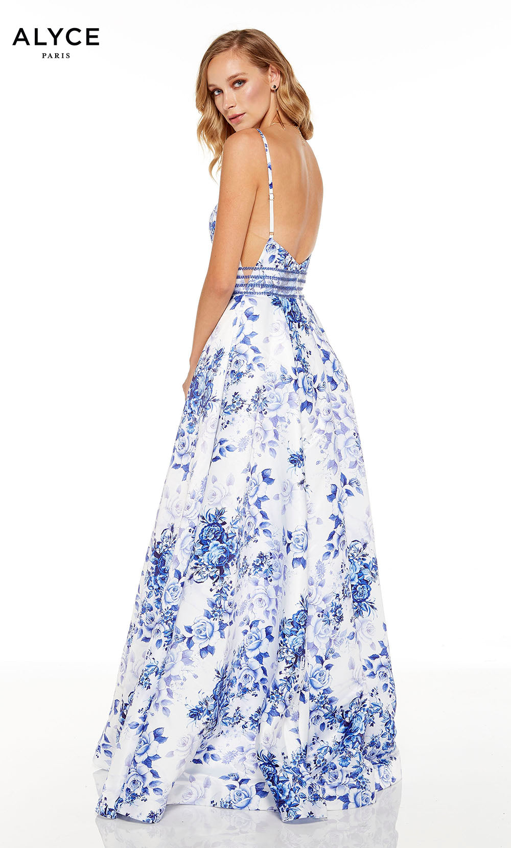 STYLE # 1539 DIAMOND WHITE-ROYAL