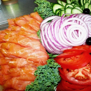 Smoked Lox Platter  • (12 - 15 Guests)