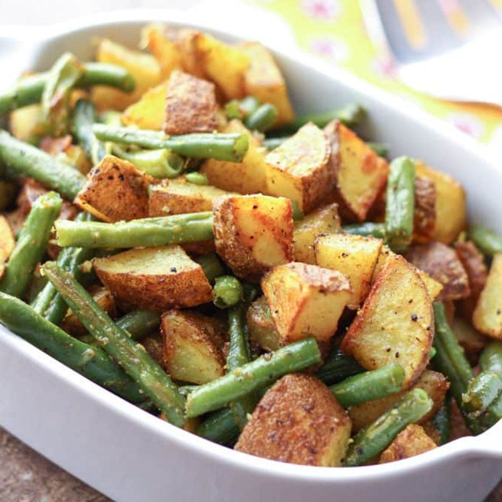 Green Beans & Roasted Potatoes (12 - 15 Guests)