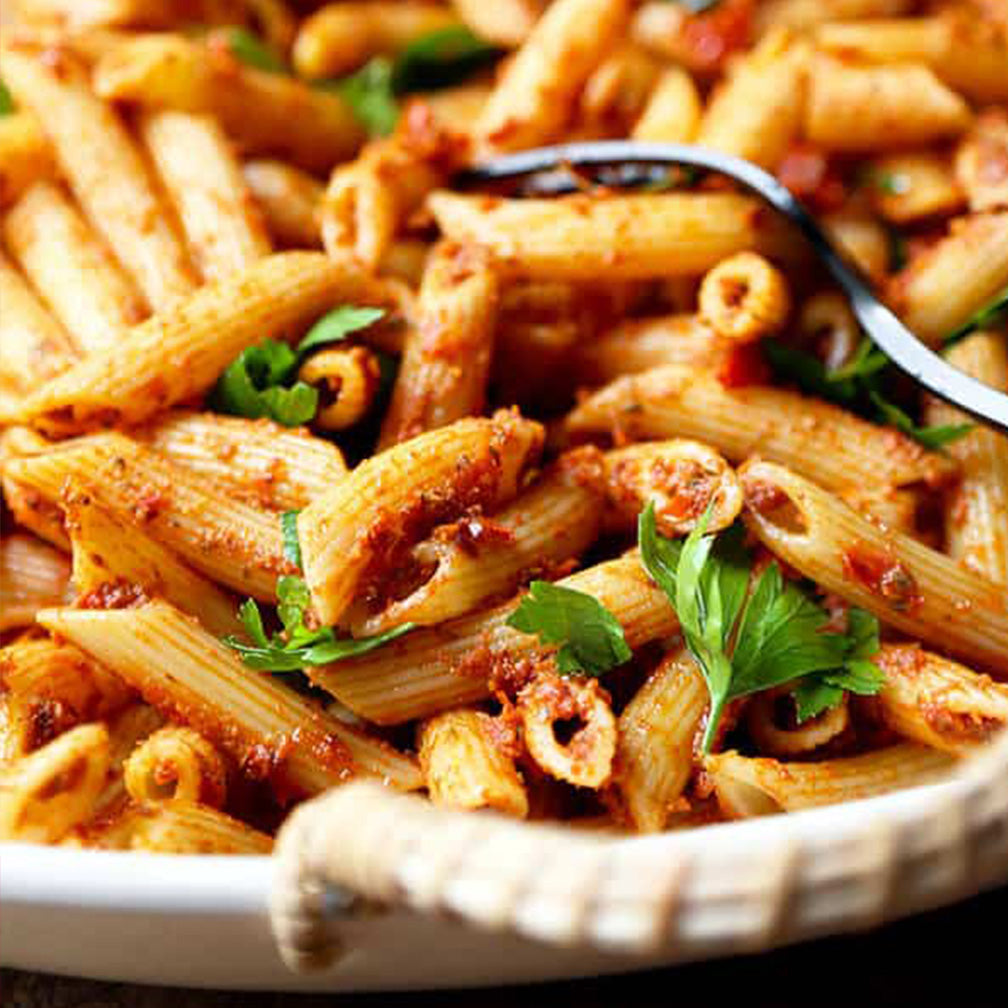 Sun Dried Tomato Pasta Salad (12 - 15 Guests)