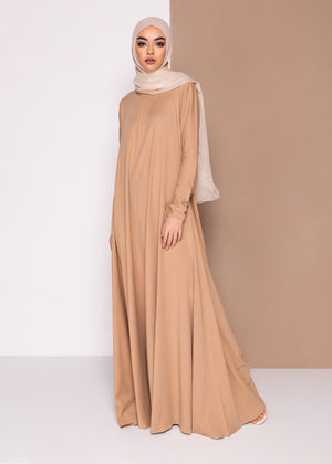 Mulberry Abaya Wheat Aab