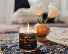 Load image into Gallery viewer, WAX CABIN CO. Cozy Cabin Soy Candle