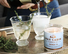 Load image into Gallery viewer, WAX CABIN CO. French 75 Soy Candle