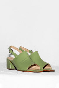 No.6 Leah Sandal in Pistachio