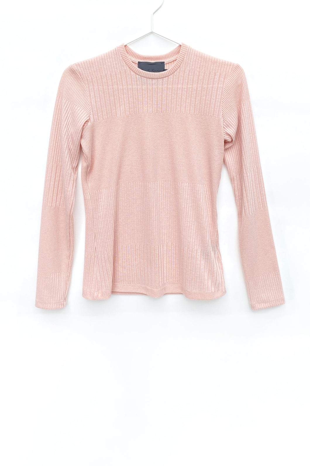 No.6 Stellan Crewneck Knit in Blush