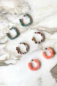 MACHETE Kate Hoops in Bright Pink