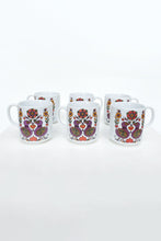 Load image into Gallery viewer, Vintage Stoneware Set of 6 Mugs