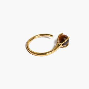 ODETTE NEW YORK Klint Ring with Tigers Eye