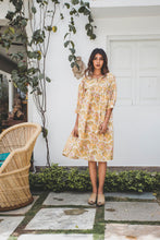 Load image into Gallery viewer, VOLOSHIN Goa Beach Tunic - Goldenrod Parlour Floral