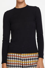 Load image into Gallery viewer, No.6 Stellan Crewneck Knit in Black
