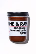 Load image into Gallery viewer, FINE & RAW Chocolate Hazelnut Butter Spread