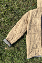 Load image into Gallery viewer, Vintage Taupe Quilted Coat