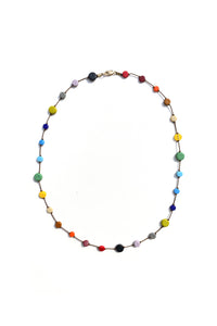 I. RONNI KAPPOS Multi Circle Necklace