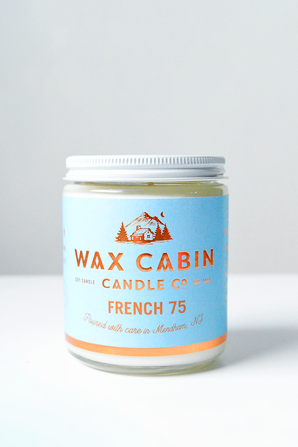WAX CABIN CO. French 75 Soy Candle