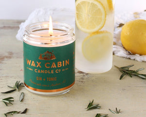 WAX CABIN CO. Gin & Tonic Soy Candle