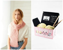 Load image into Gallery viewer, LOOPY MANGO All You Knit Kit - Scarf