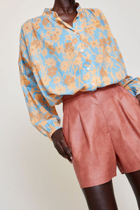 No.6 Quinn Blouse in Sea Meadow