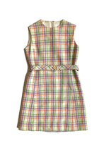 Load image into Gallery viewer, vintage check mini dress and matching jacket