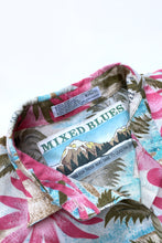 Load image into Gallery viewer, Mixed Blues Novelty Print Romper