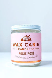 WAX CABIN CO. Rosie Rose Soy Candle