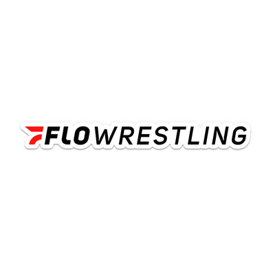 FloWrestling Sticker