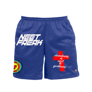 Godly Mesh Shorts - Neet Freak Clothing LLC