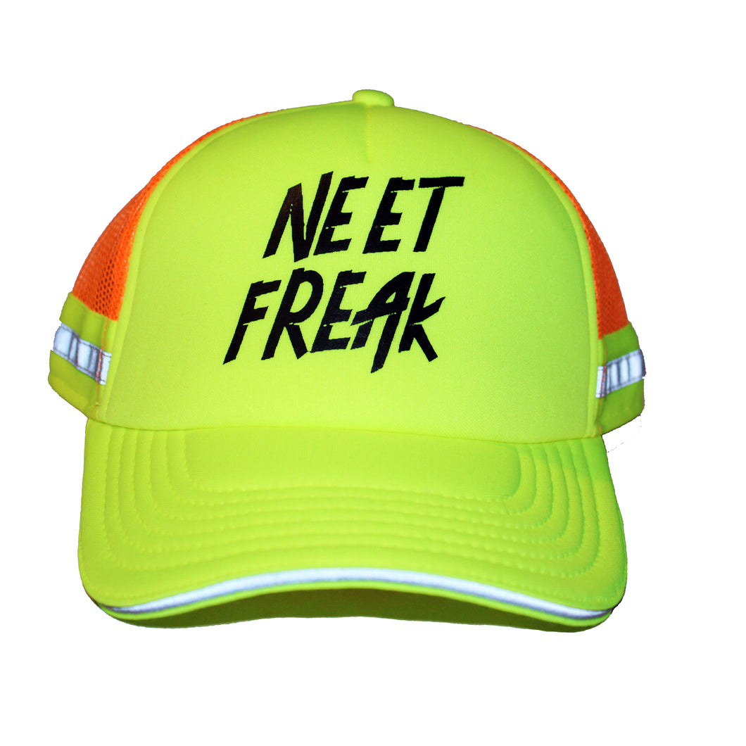 Safety First (Trucker Cap) - Neet Freak Clothing LLC