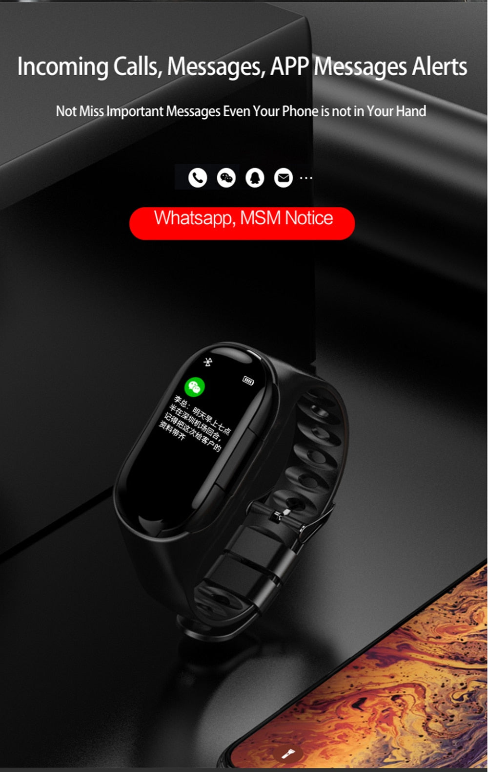 Wireless Headphones for phone Smart Watch