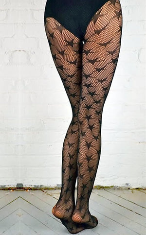 STARS FISHNET CROCHET