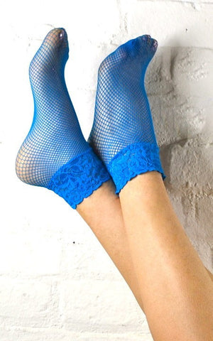 FISHNET & LACE SOCKS