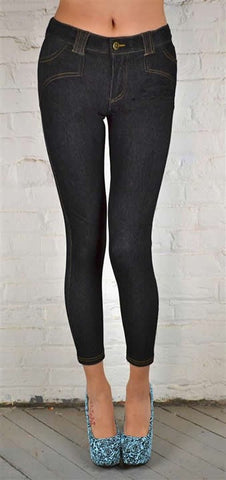 SADDLE BACK JEGGINGS NAVY