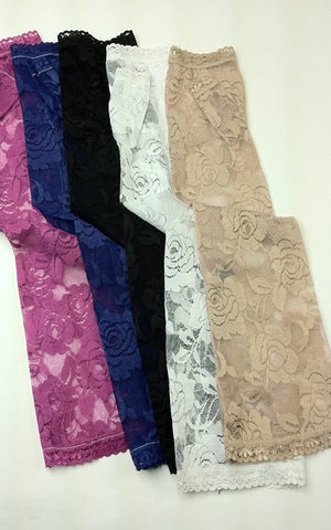 ROSE LACE LONG