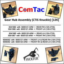 Load image into Gallery viewer, CTIS Knuckle - Geared Hub 12K ; Humvee  Hummer ; 6041984 6041985 6041986 6041987