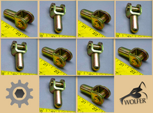 Load image into Gallery viewer, 10 each - PUSH RODS (LINKS) BRAKE CYLINDER ; 5TON ; 2530-00-272-8106 7413486