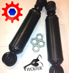 2 Shocks & 4 Nuts- 12K HEAVY REAR KIT; Hummer Humvee ; 57K4895 2510-01-554-1789
