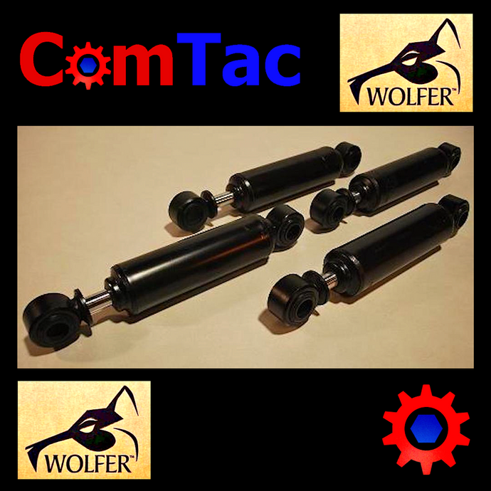 4 each- Full Set of 10K Shocks (2-FRONT+2-REAR) H1 Hummer Humvee ; 12340071 & 72