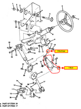 Load image into Gallery viewer, BOOT & BUSHING for Steering Column;  H1  Humvee  Hummer ; 12341893 & 12341894